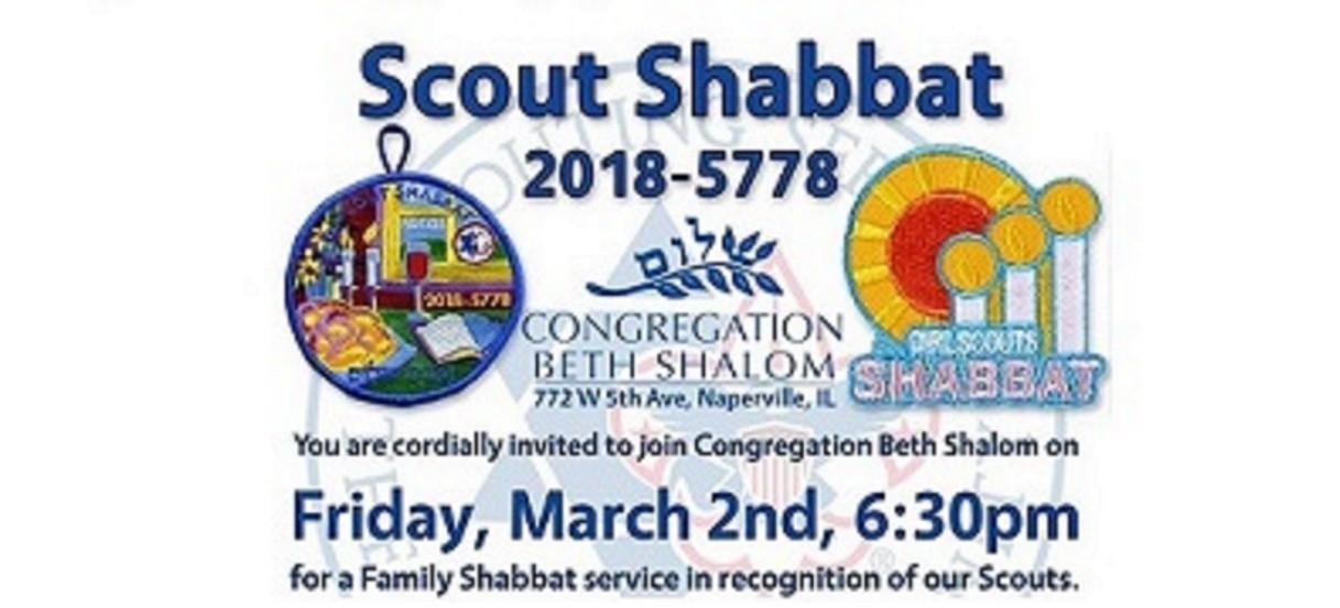 Scout Shabbat 2